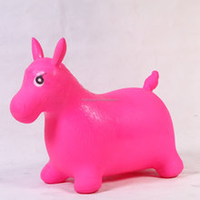 PVC inflatable jumping skipping animal jumping horse