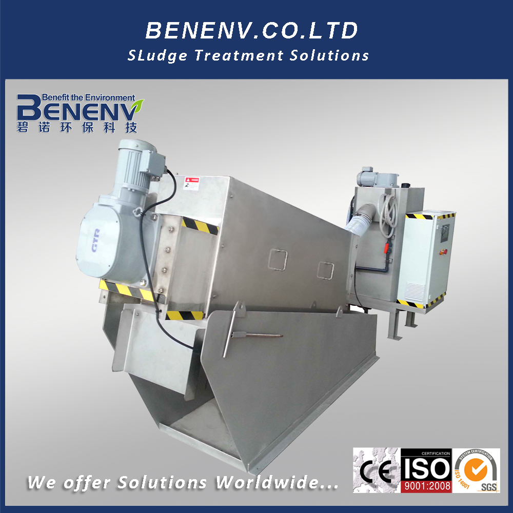 Palm fernel sludge thickener,Separator for sludge dewatering screw press,Hydrocarbon sludge bags