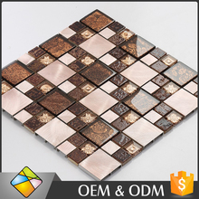 2017 Design 300x300 Acrylic Mosaic Laminate Wall Tiles For Bathroom