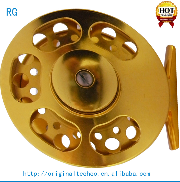 Wholesale Fishing Equipment Smooth Spin Centerpin Reel