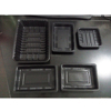 Black Microwavable PP Plastic Blister Tray For Food Packaging