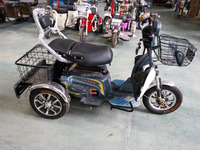 small 3 wheel scooter battery drived tricycle for elderly/adults