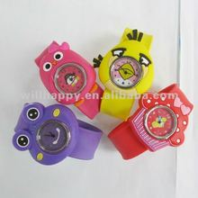 Silicone animals slap on cheap watch(SW-409)