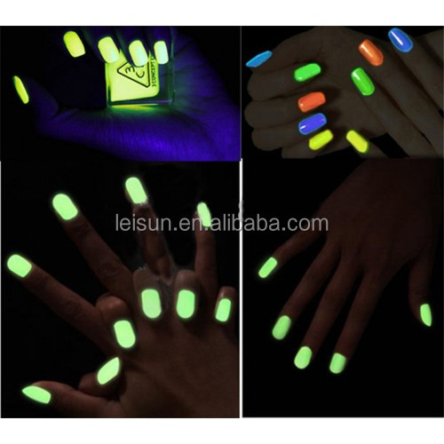 fluorescent powder for nail art