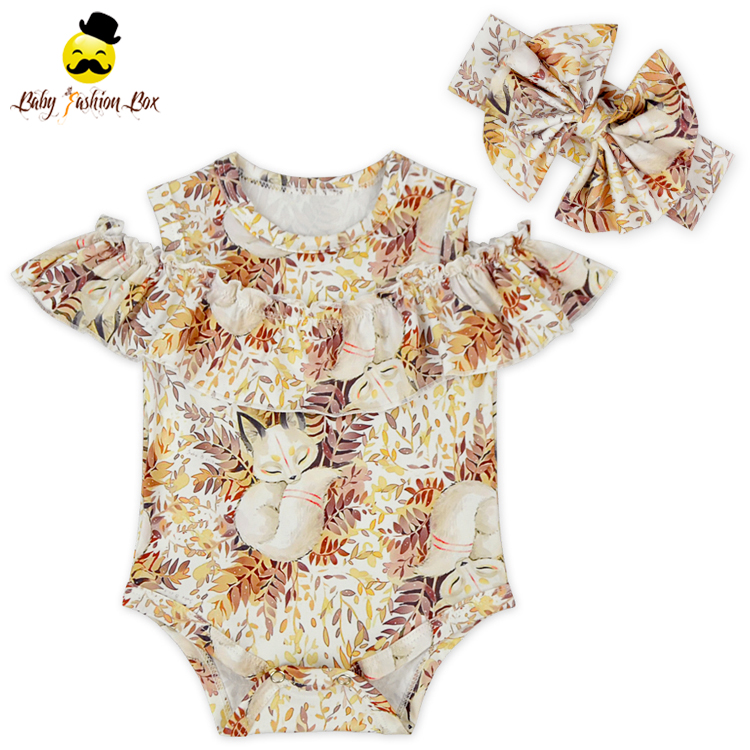 Wholesale new products newborn baby romper full floral pattern infants romper summer style