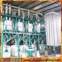 wheat/maize/corn flour mill machine price,grain flour mill machine