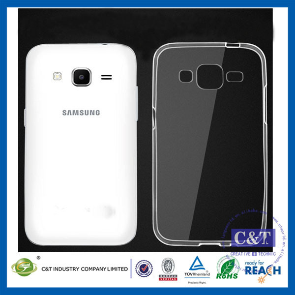 C&T 0.3mm Soft TPU Gel Silicone Clear Case Cover For SAMSUNG GALAXY Win Pro G3812 G3818