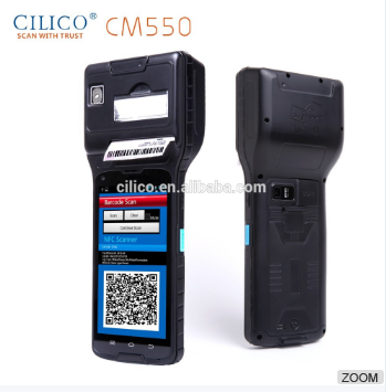 Android Inventory Bus ticket 2D reader RFID Thermal Printer PDA
