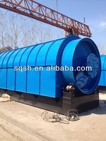 scrap rubber refining to black oil machine with CE, ISO and BV