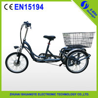 2015 New Special 3 wheel electric bike with battery