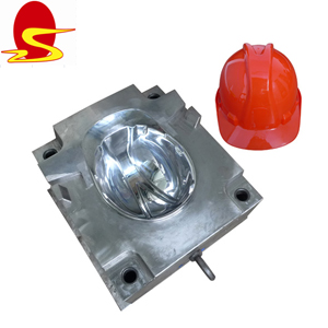 PP Helmet Mold Injection Molding Custom Molded Plastic Parts