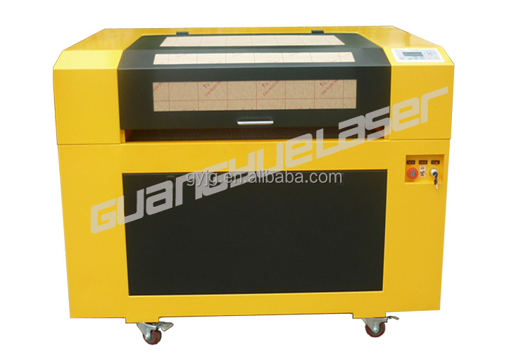 China GY6090 600x900mm 60W80W100W PVC Paper Fabric acrylic laser screen protector cutting machine