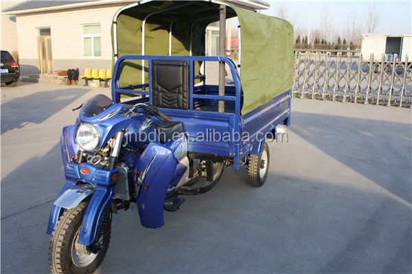 200cc Automatic dump Tri motorcycle/ motor tricycle/ three wheel motorcycle for cargo and passenger