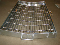 GALVANIZING mild steel flooring grating drainage trench cover/manhole cover