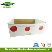 Different Types Corrugated Paper Fruit Box