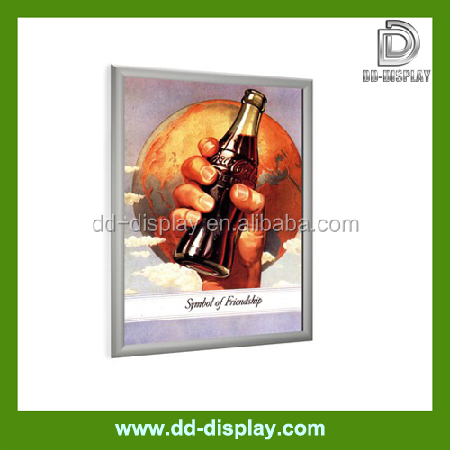 Economic promotional aluminum snap frame for pictures