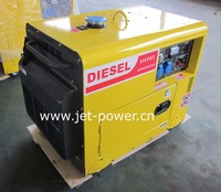 3kva 5kva 6kva 7kva air cooled silent diesel generator portable