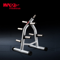 F1-A67 Gym Weight Tree/barbell stand(Silver)