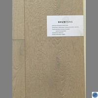 CE Standard Natural Color UV Lacquered Euorpean White Oak Engineered Wood Flooring-SY8001