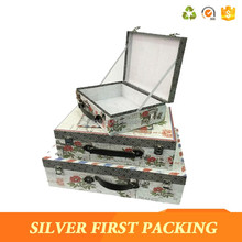 New Arrival Mini Suitcase Gift Box On Cardboard Box Manufacturers
