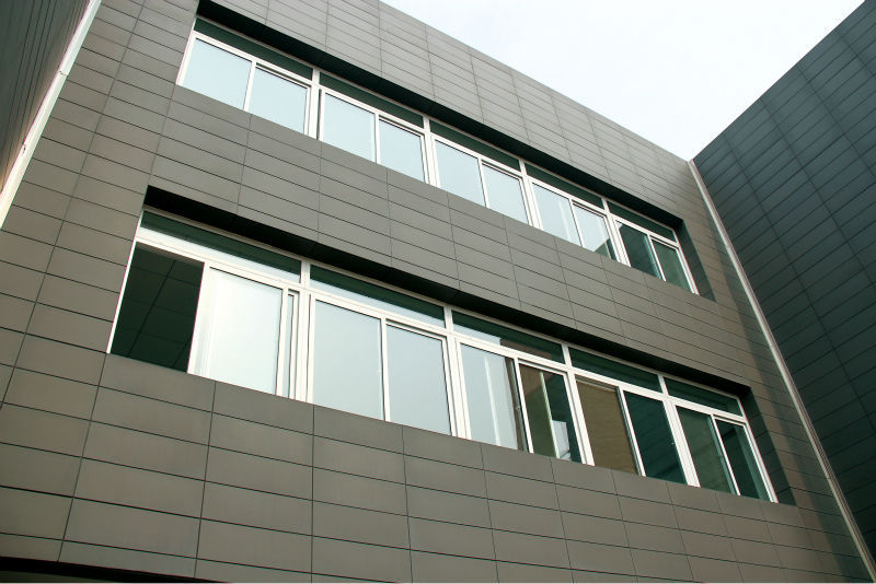 Ceramic Wall Cladding : Ceramic tile exterior wall terracotta clading