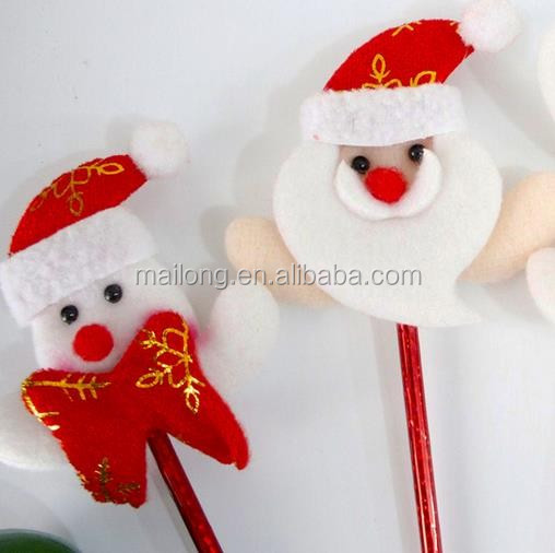 Santa snowman elk ball-point pen Christmas gifts gifts toys for children pn6874