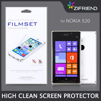 2014 New Arrival High clear screen protector for NK 520,best anti glare screen protector