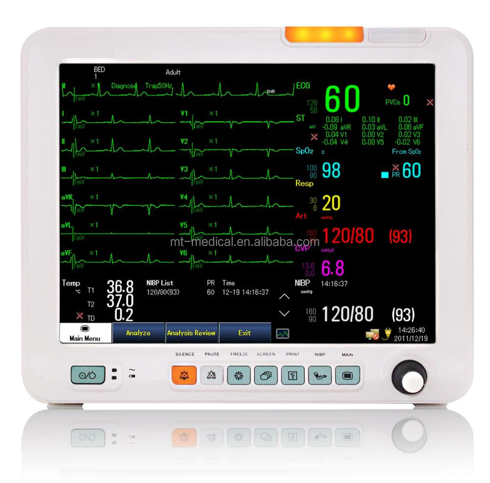 Portable Multi-parameter Patient Monitor for Hospital ICU