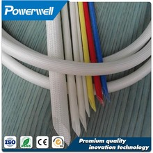 Anti-aging fiber glass silicon resin sleeving