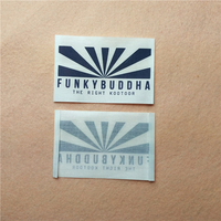 High Quality Waterproof Custom Printed Labels Iron On Size Heat Transfer Printing Label