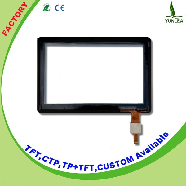 "5"" capacitive screen touch 800x480 dots lcd lvds touchscreen"