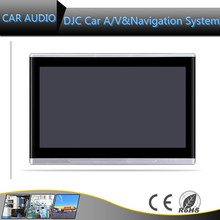 Hot selling HD headres TV 11280*720 Capacitive Touch Screen car headrest dvd player with android car headrest dvd