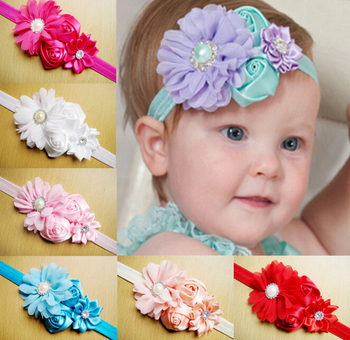 z a baby hair accessories girls artificial flowers