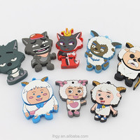 Free Shipping cute Radiant and the Wolf usb flash disk PVC 1GB 2GB 4GB 8GB 16GB usb flash drive key Free packing