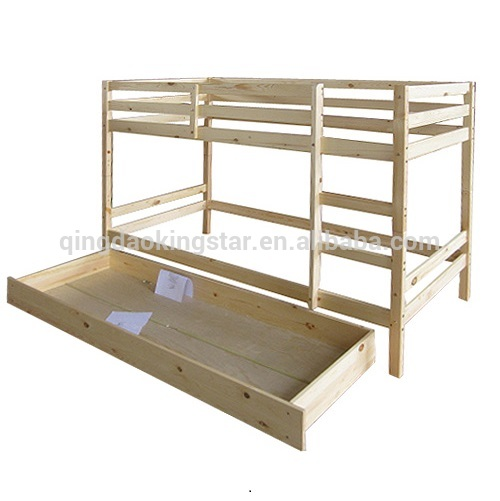 Modern wooden double deck bed designs ks bb04 buy double for Bedroom designs with double deck bed