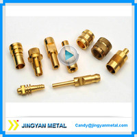 Dongguan customized special turned part brass worm gear shaft made by cnc lathe machining at lowest price