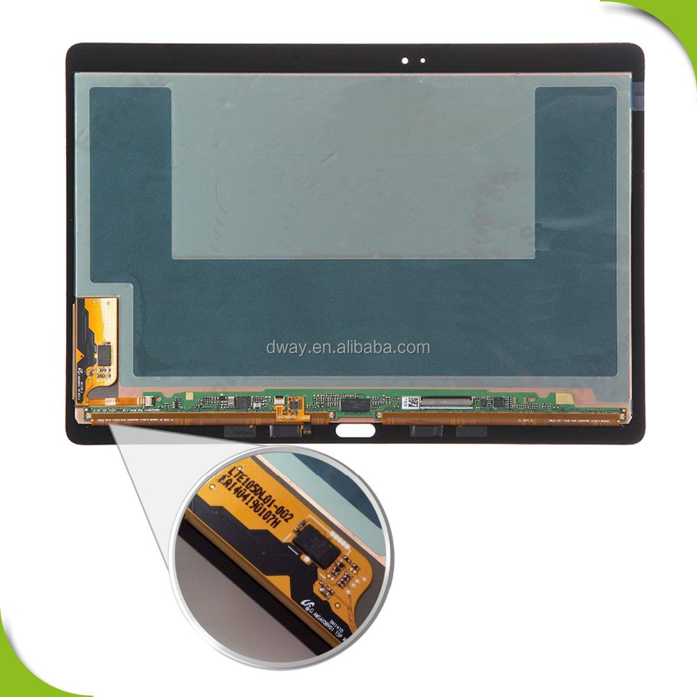 Alibaba express Phone LCD Touch Screen Digitizer Assembly Complete For Samsung Galaxy Tab S 10.5'' T800 sm-T805 Lcd screen