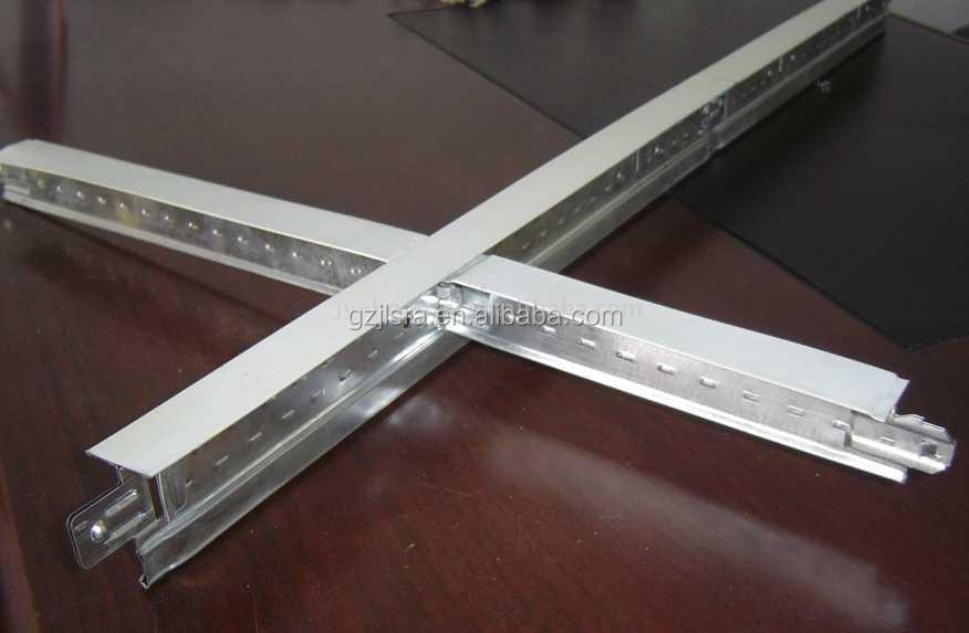Premuim Quality Galvanized or Galvalum T bar and FUT For Decoration