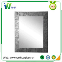 Home Decoration Frameless Beveled Edge Aluminum Mirror with SGS Certification