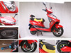 2016 New 60V 800w Lovely model electric motorcycle moped