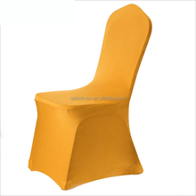 Banquet Gold Spandex Chair Covers