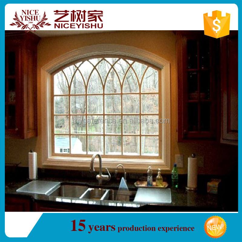 Modern wrought iron window grill design decorative metal for Modern zen window grills design