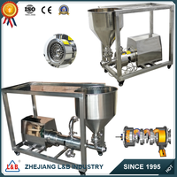 Stainless steel high speed shear powder and liquid emulsifying pump