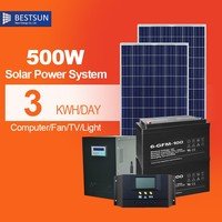 BestsunElectric generator grid photovoltaic system with best design 500W