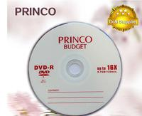 Wholesale blank Princo dvd cheap price dvd