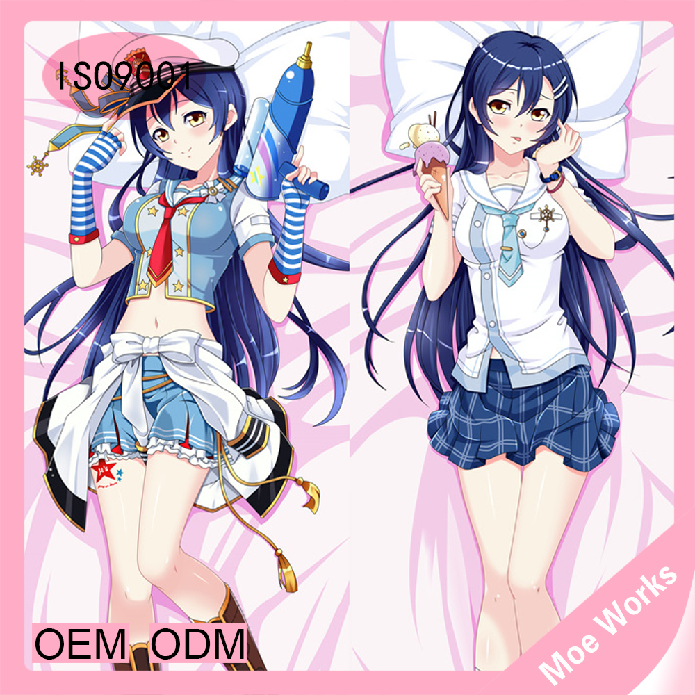 Love live Sonoda Umi Hot Aniem Dakimakura Pillow Case