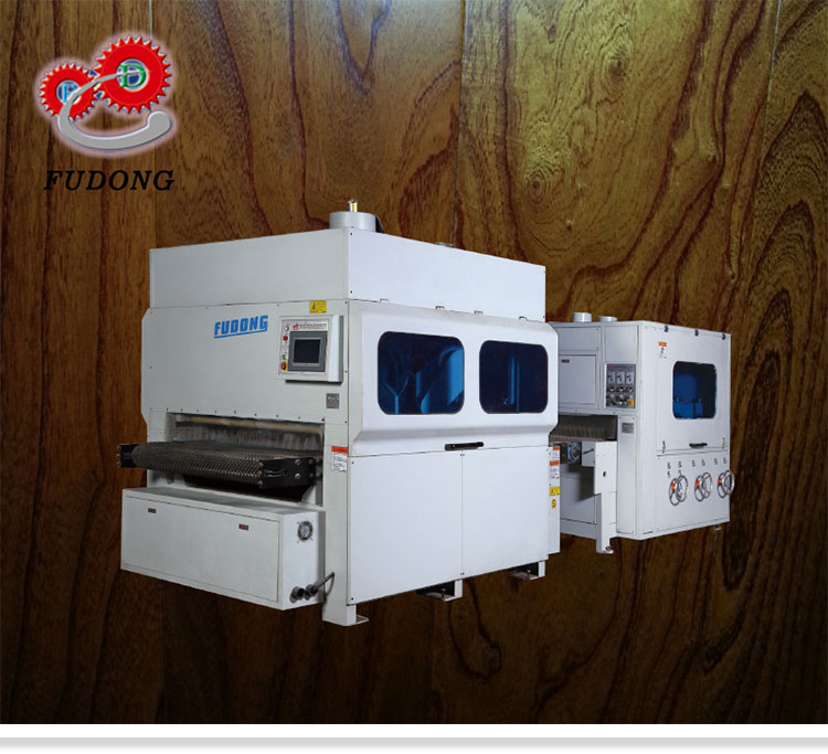 High efficiency wood processing sanding machine