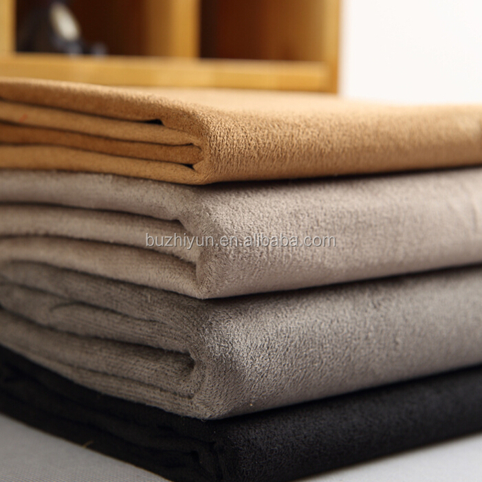 100% polyester microfiber suede fabric