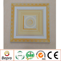 Lay in Suspended Metal Ceiling Tiles Aluminum False Ceiling