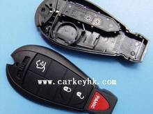10pcs/lot Chrysler 3+1 button remote key blank car key wholesale
